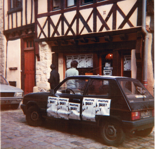1983 LIBRAIRIE BULLE VIEUX MANS OUVERTURE