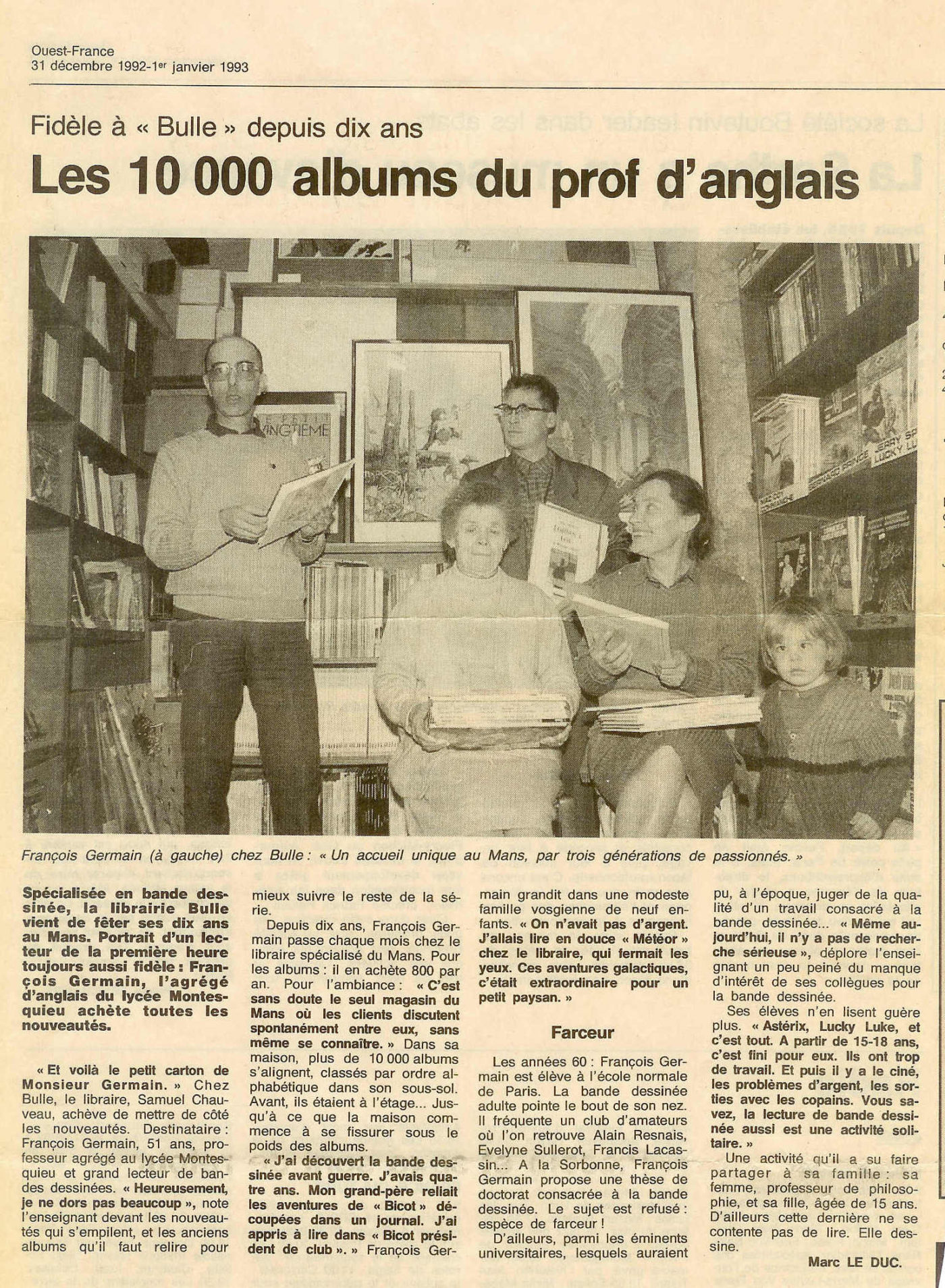 1992 OUEST FRANCE