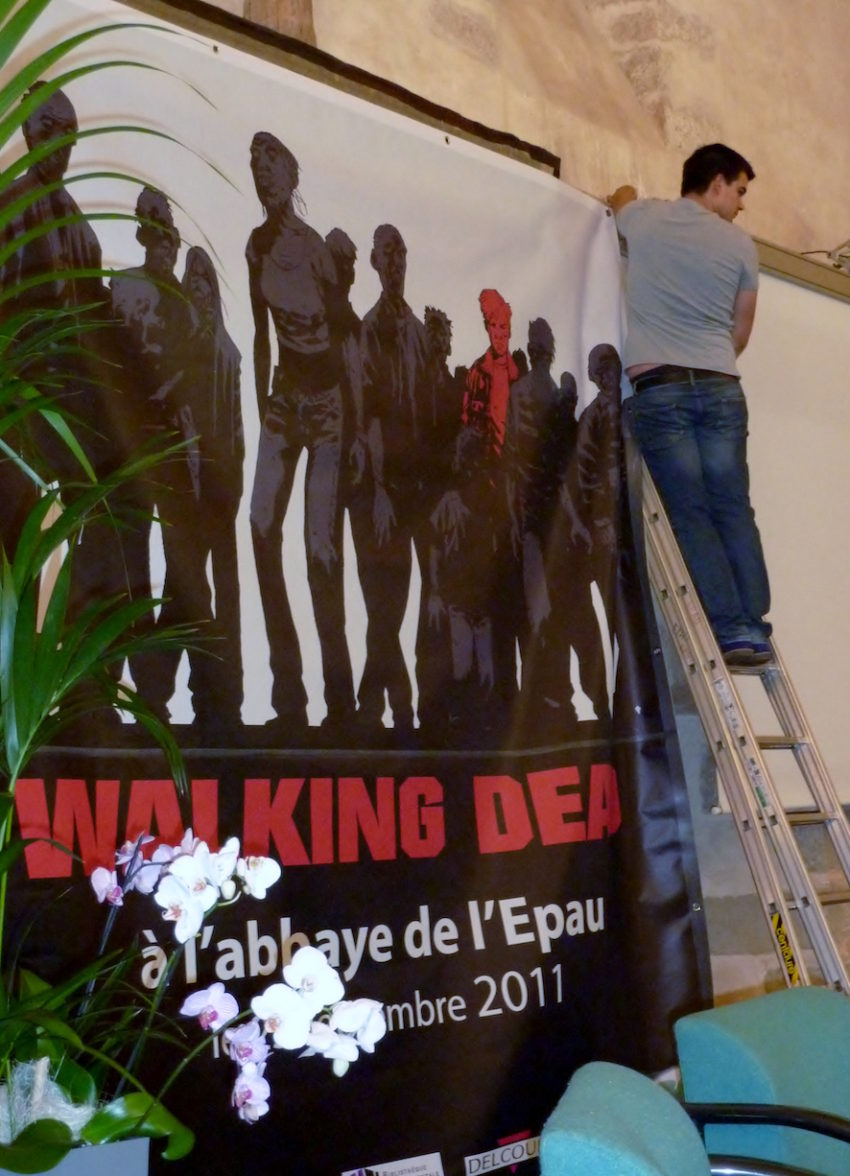 WALKING DEAD ADLARD EPAU 2011