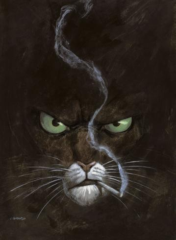 GUARNIDO BLACKSAD PORTRAIT 50x70cm 22€