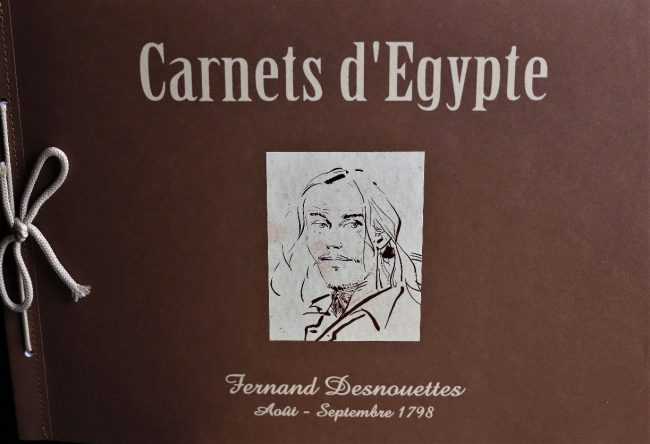 CARNETS D'EGYPTE MICHEL FAURE LUC REVILLON FRANCK GIROUD