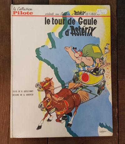 ASTERIX LE TOUR DE GAULE EO1965 500 EUR