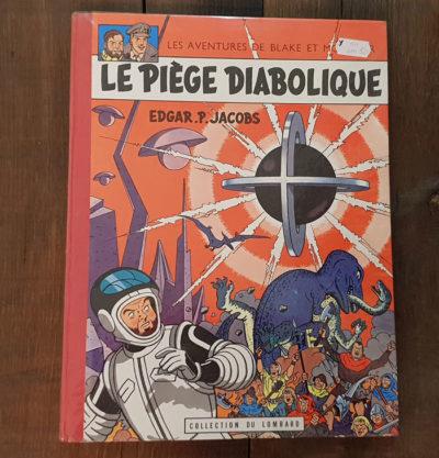 BLAKE ET MORTIMER LE PIEGE DIABOLIQUE EO1962 600 EUR