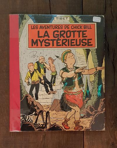 CHICK BILL LA GROTTE MYSTERIEUSE EO1958 180 EUR