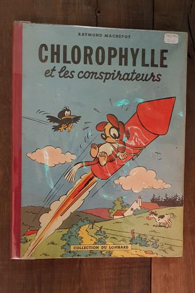 CHLOROPHYLLE ET LES CONSPIRATEURS EO1956 500 EUR