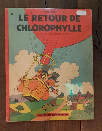 LE RETOUR DE CHLOROPHYLLE EO1961 150 EUR