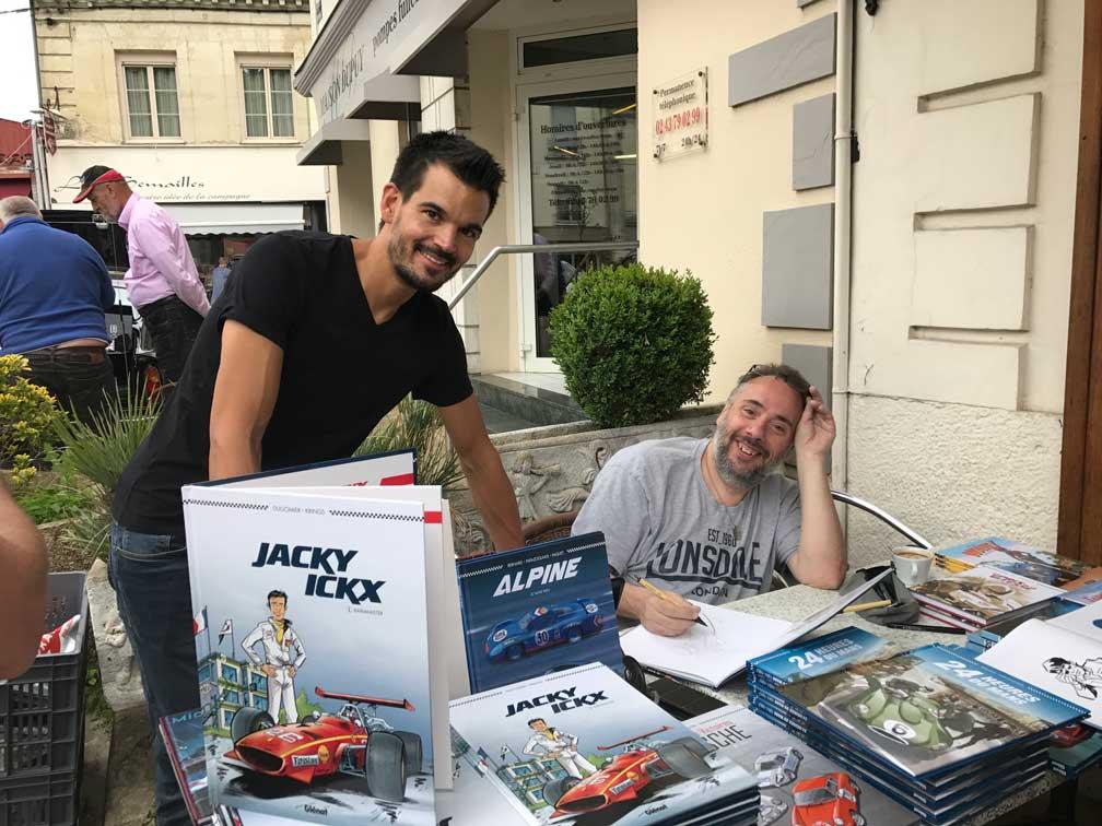 JACKY ICKS JEAN MARC KRINGS JUIN 2018