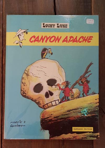 LUCKY LUKE CANYON APACHE