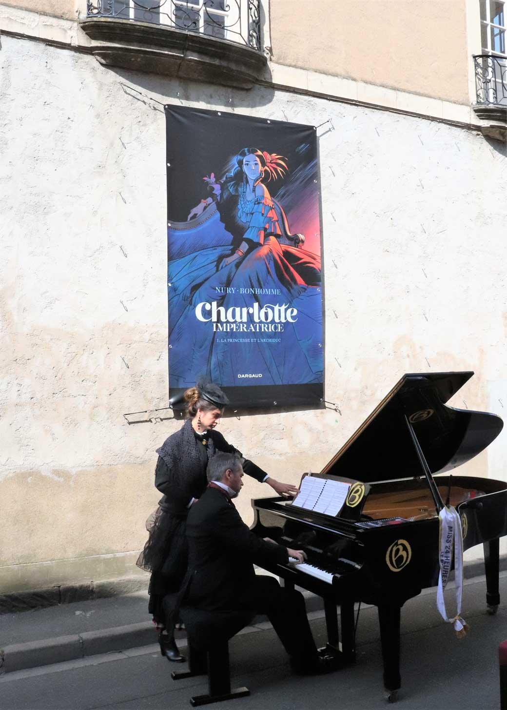 MATTHIEU BONHOMME CHARLOTTE IMPERATRICE SEPT 2018