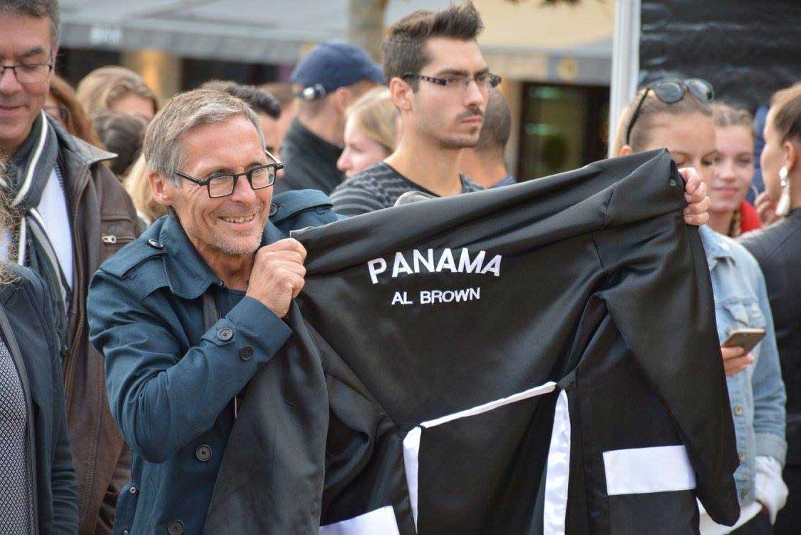 PANAMA AL BROWN INKER SEPT 2017