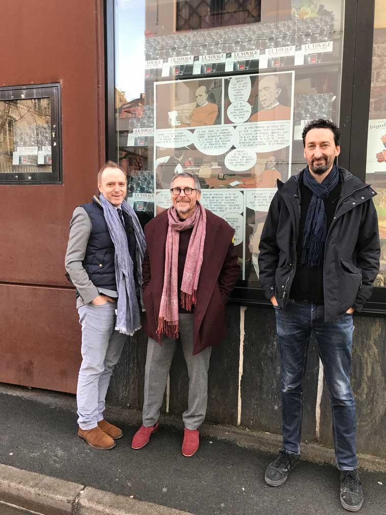 LE VOYAGE DE MARCEL GROB COLLIN GOETHALS NOV 2018