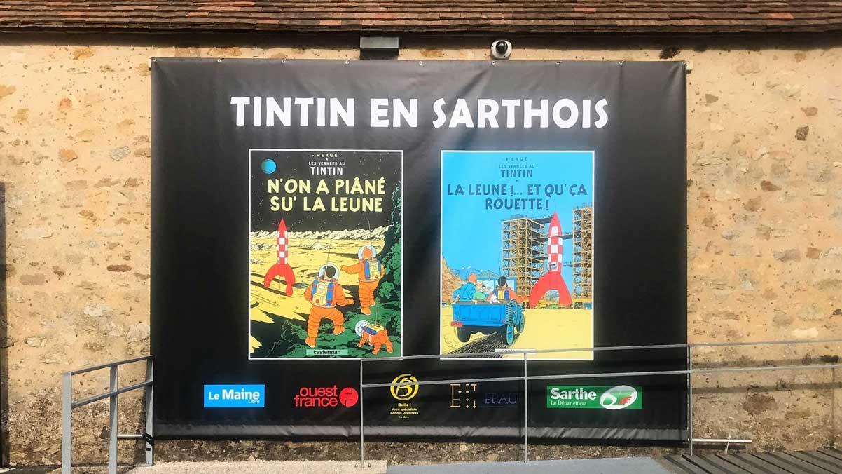 TINTIN EN SARTHOIS AVRIL 2019