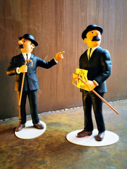 librairie-bulle-dupont-dupond-figurine