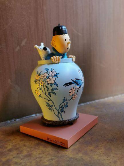 librairie-bulle-tintin-potiche-figurine