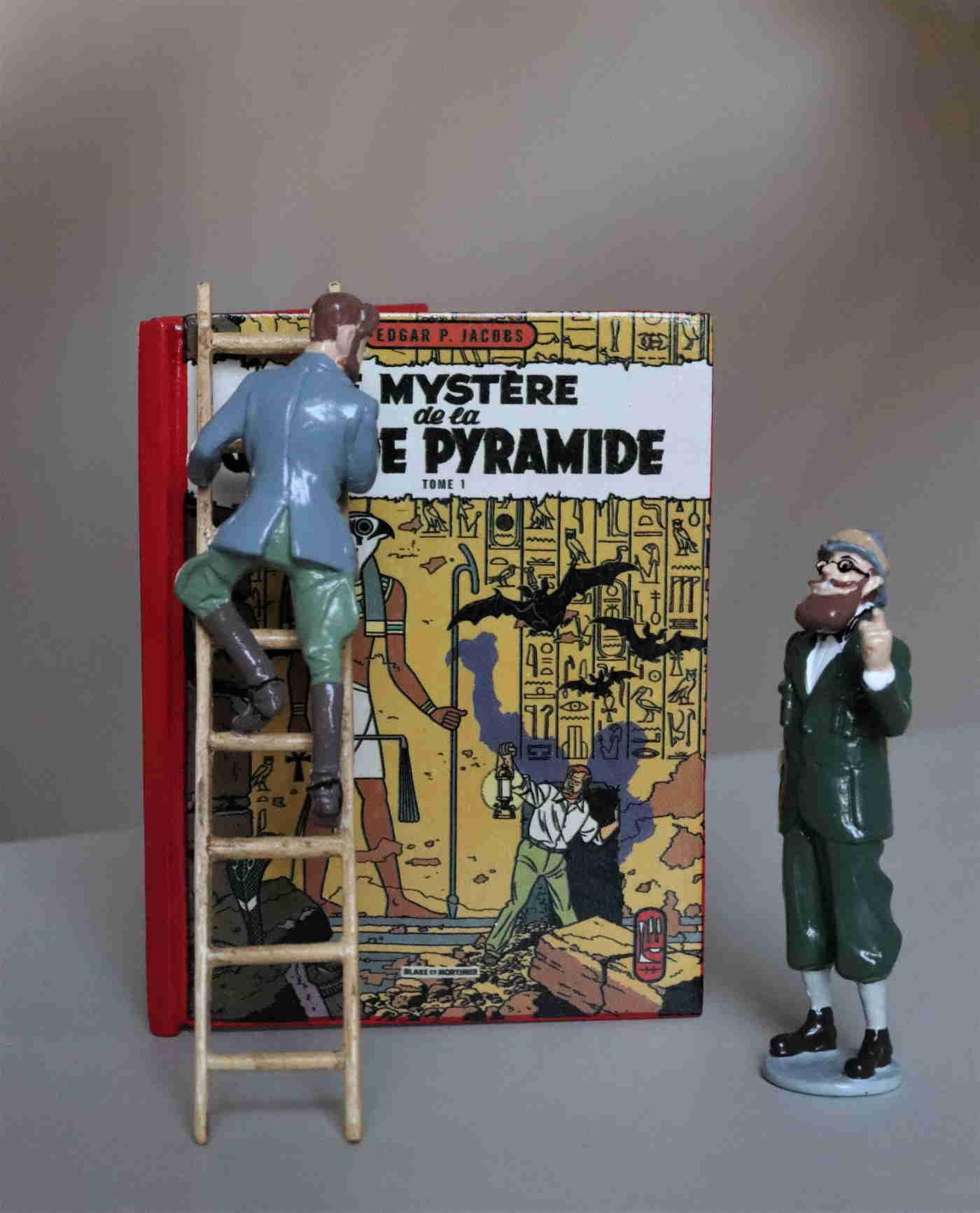 BLAKE ET MORTIMER LE MYSTERE DE LA GRANDE PYRAMIDE T2 PIXI 170 EUR