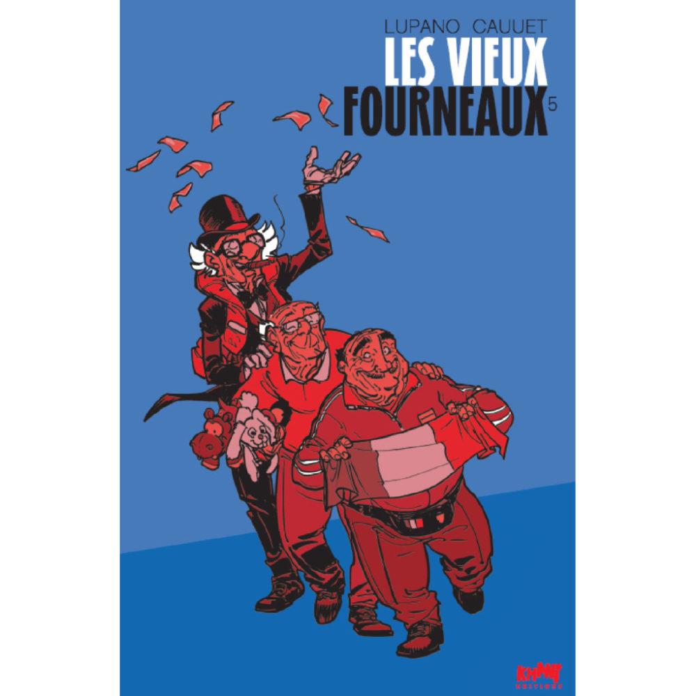TIRAGE LUPANO CAUUET LES VIEUX FOURNEAUX T5 125 EUR
