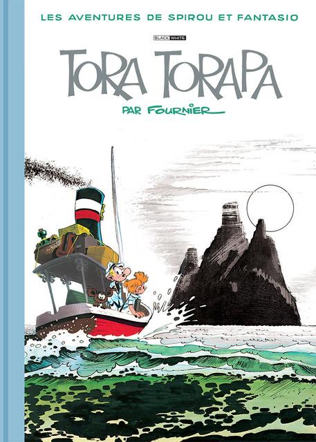 FOURNIER SPIROU ET FANTASIO TORA TORAPA TIRAGE BLACK AND WHITE 185 EUR