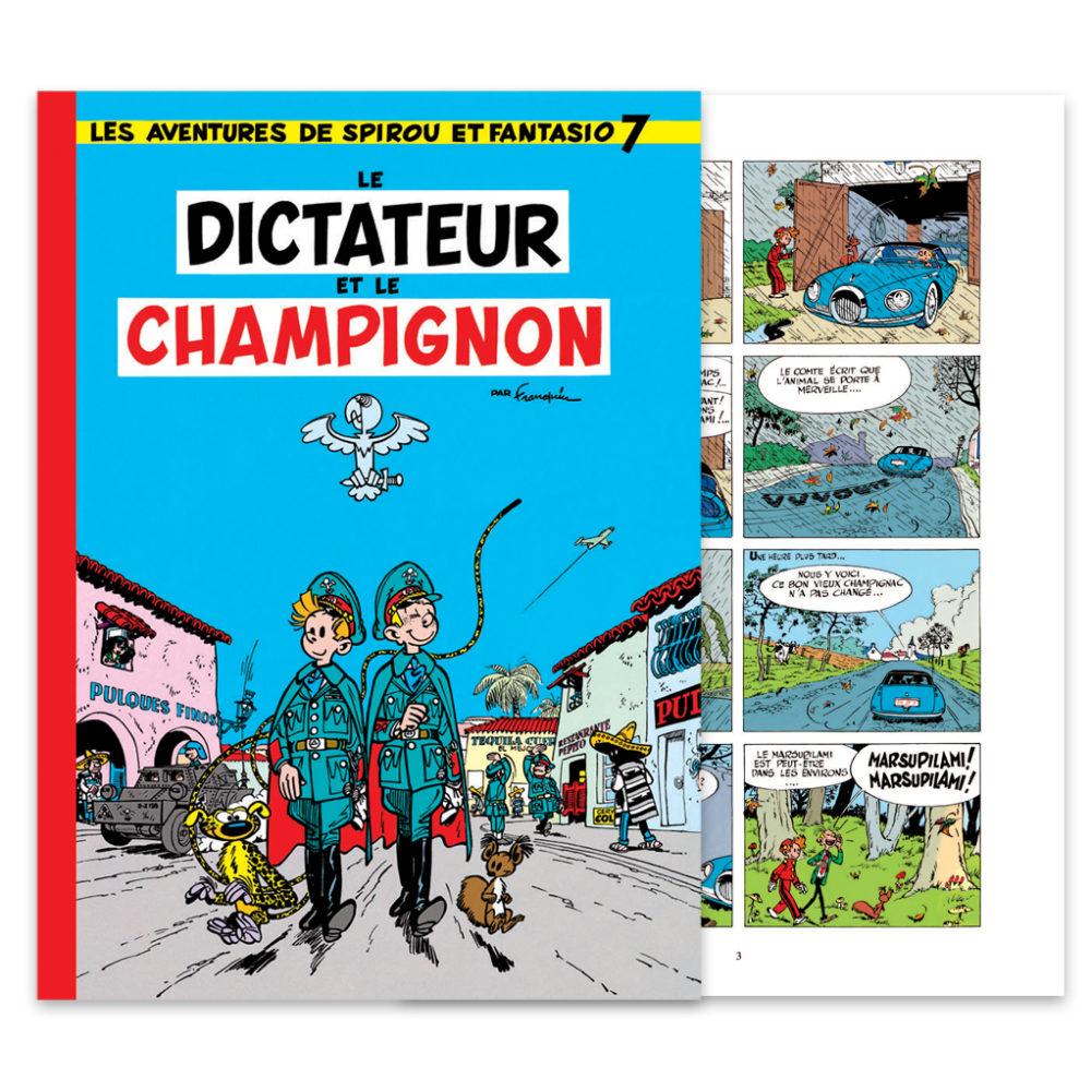FRANQUIN SPIROU LE DICTATEUR ET LE CHAMPIGNON COULEUR HENNEBELLE 670 EUR