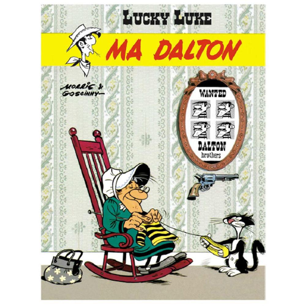 MORRIS LUCKY LUKE MA DALTON N&B HENNEBELLE 350 EUR – COULEUR 590 EUR