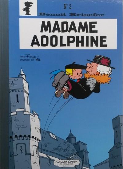 PEYO BENOIT BRISEFER MADAME ADOLPHINE 175 EUR