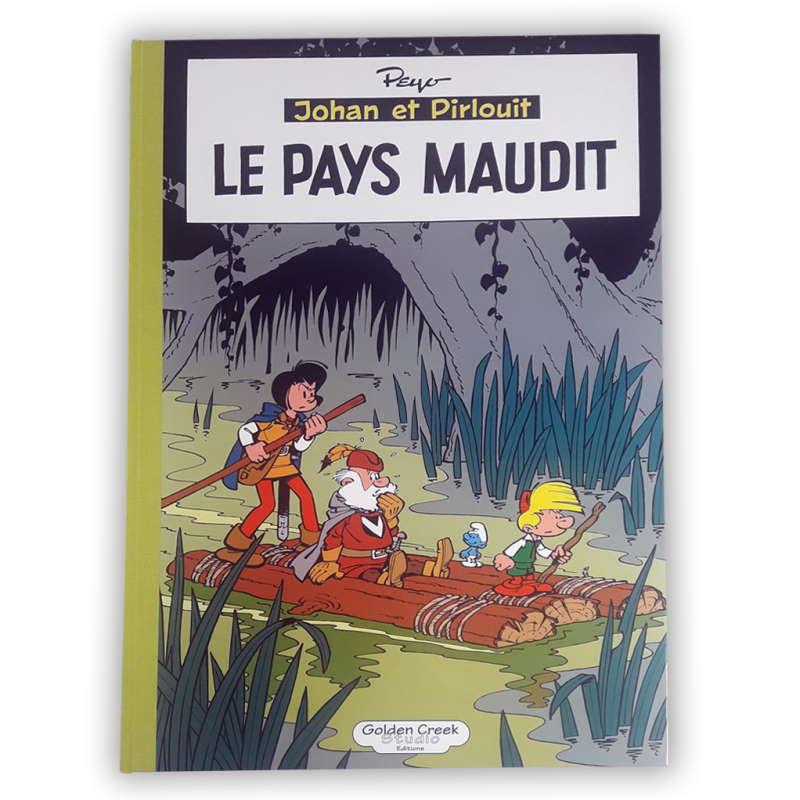PEYO JOHAN ET PIRLOUIT LE PAYS MAUDIT 175 EUR