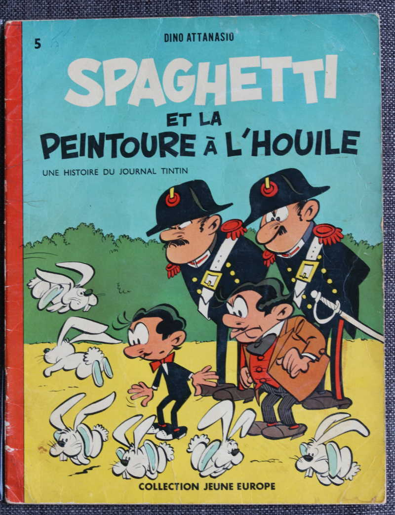 ATTANASIO SPAGHETTI ET LA PEINTOURE à L'HOUILE – EO 1961 – 100 EUR