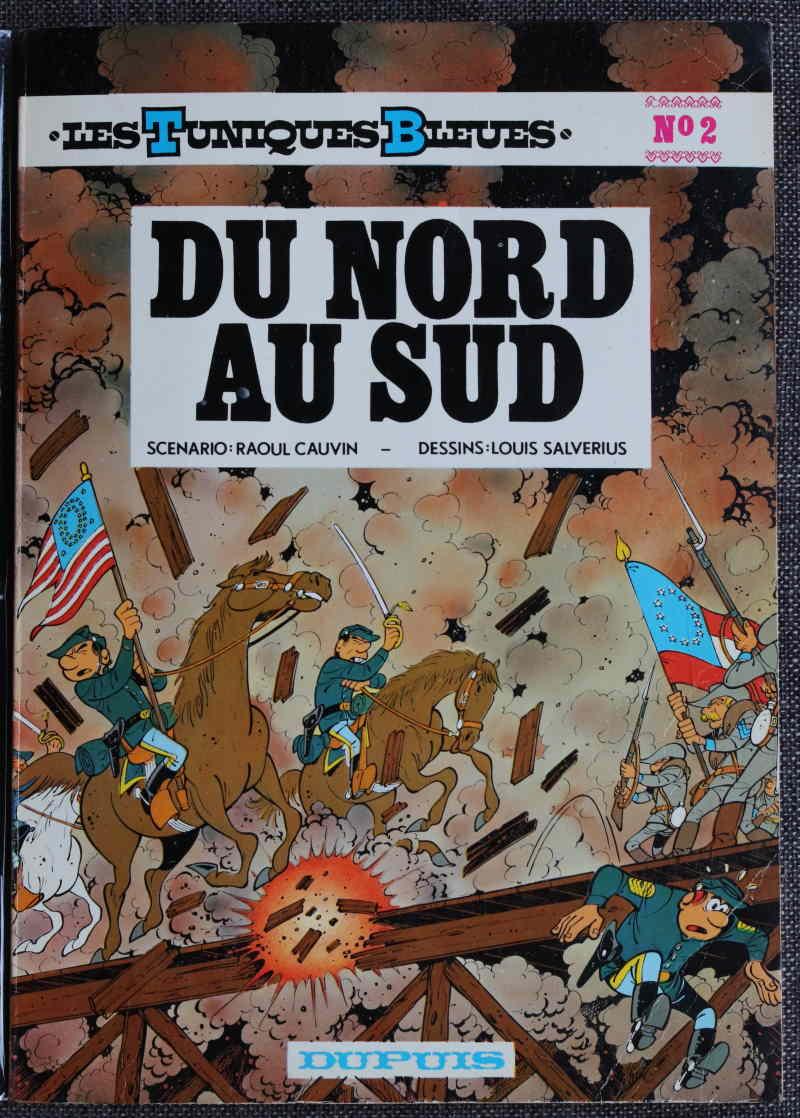 CAUVIN LES TUNIQUES BLEUES DU NORD AU SUD – EO 1972 – 120 EUR