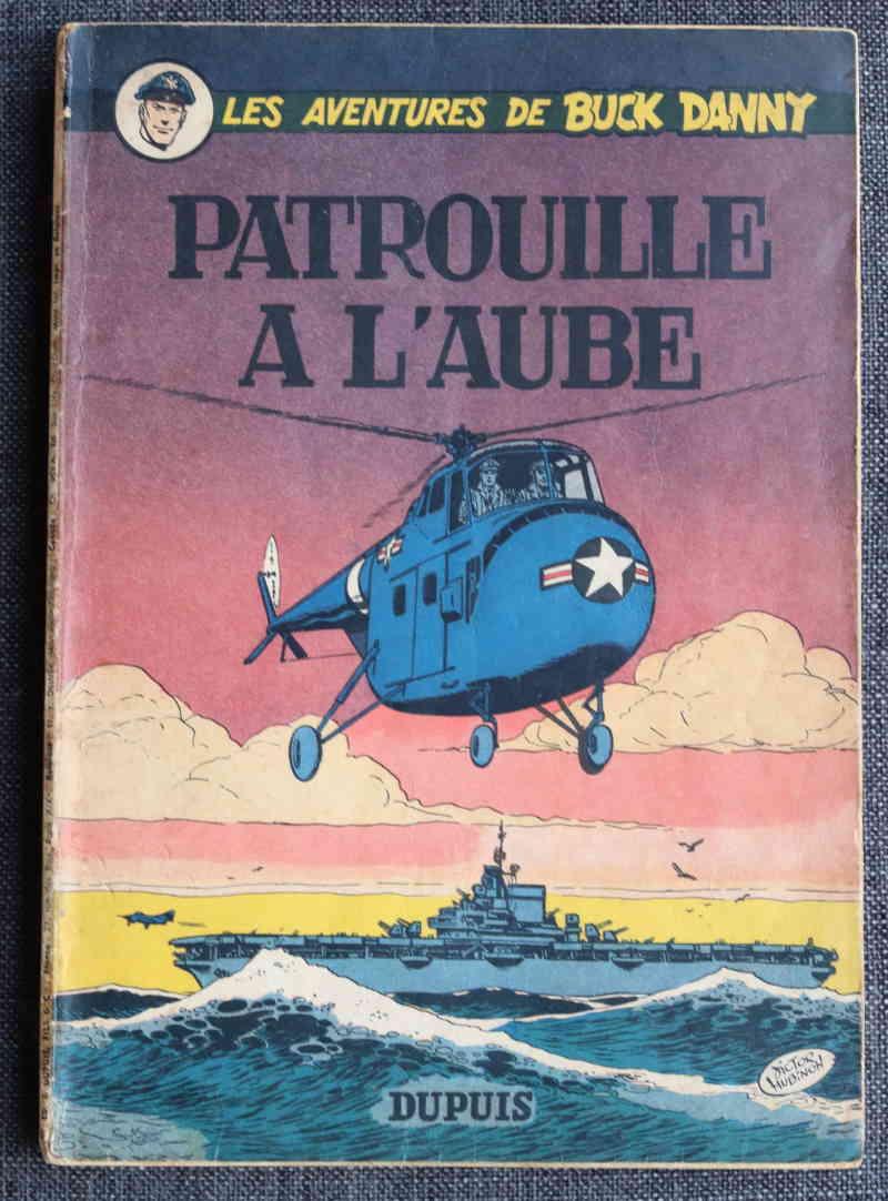 CHARLIER HUBINON PATROUILLE à L'AUBE – EO 1955 – 120 EUR
