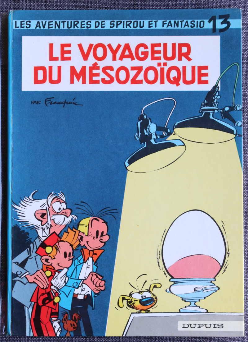 FRANQUIN SPIROU ET FANTASIO LE VOYAGEUR DU MESOZOIQUE – EO1966 – 150 EUR