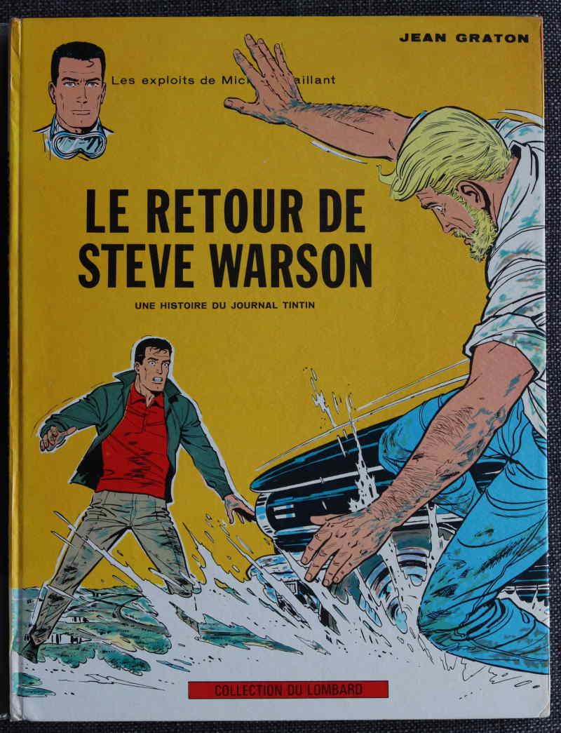 GRATON MICHEL VAILLANT LE RETOUR DE STEVE WARSON – EO1965 – 150 EUR