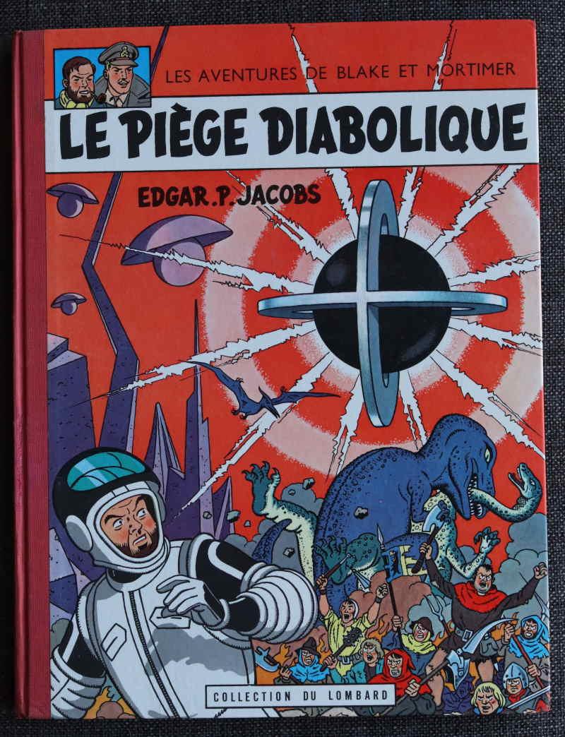 JACOBS BLAKE ET MORTIMER LE PIEGE DIABOLIQUE – EO1962 – 600 EUR