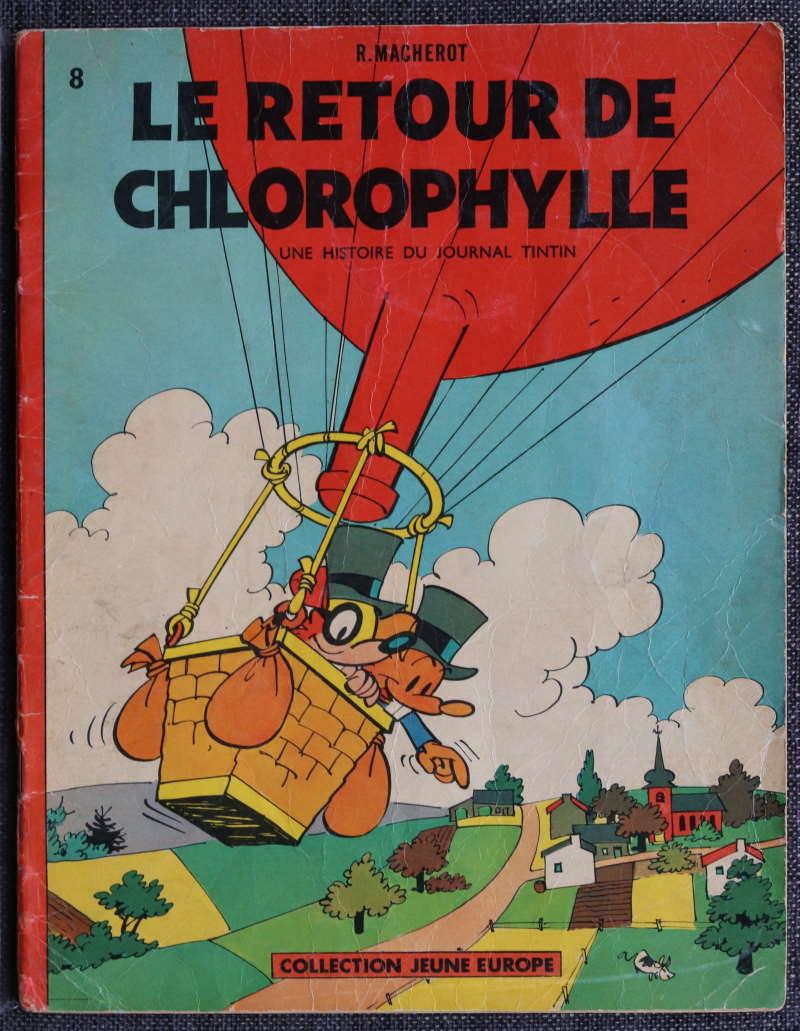 MACHEROT LE RETOUR DE CHLOROPHYLLE -EO 1961 – 150 EUR