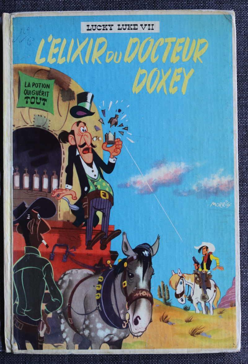 MORRIS LUCKY LUKE L'ELIXIR DU DOCTEUR DOXEY – EO1955 – 500 EUR