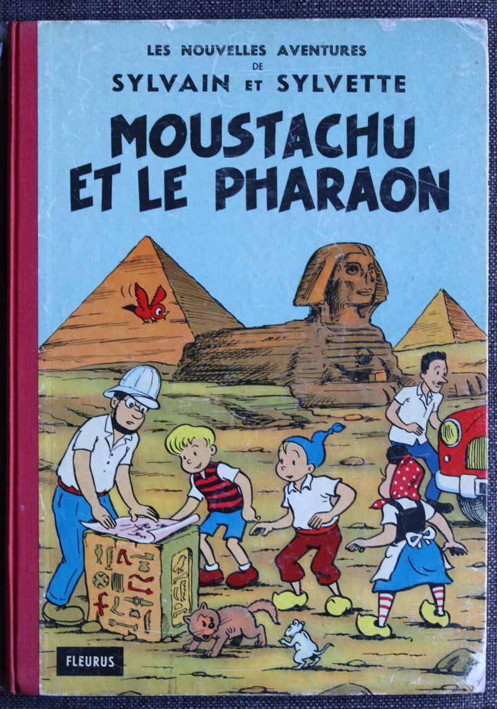 PESCH SYLVAIN ET SYLVETTE MOUSTACHU ET LE PHARAON – EO1962 – 100 EUR