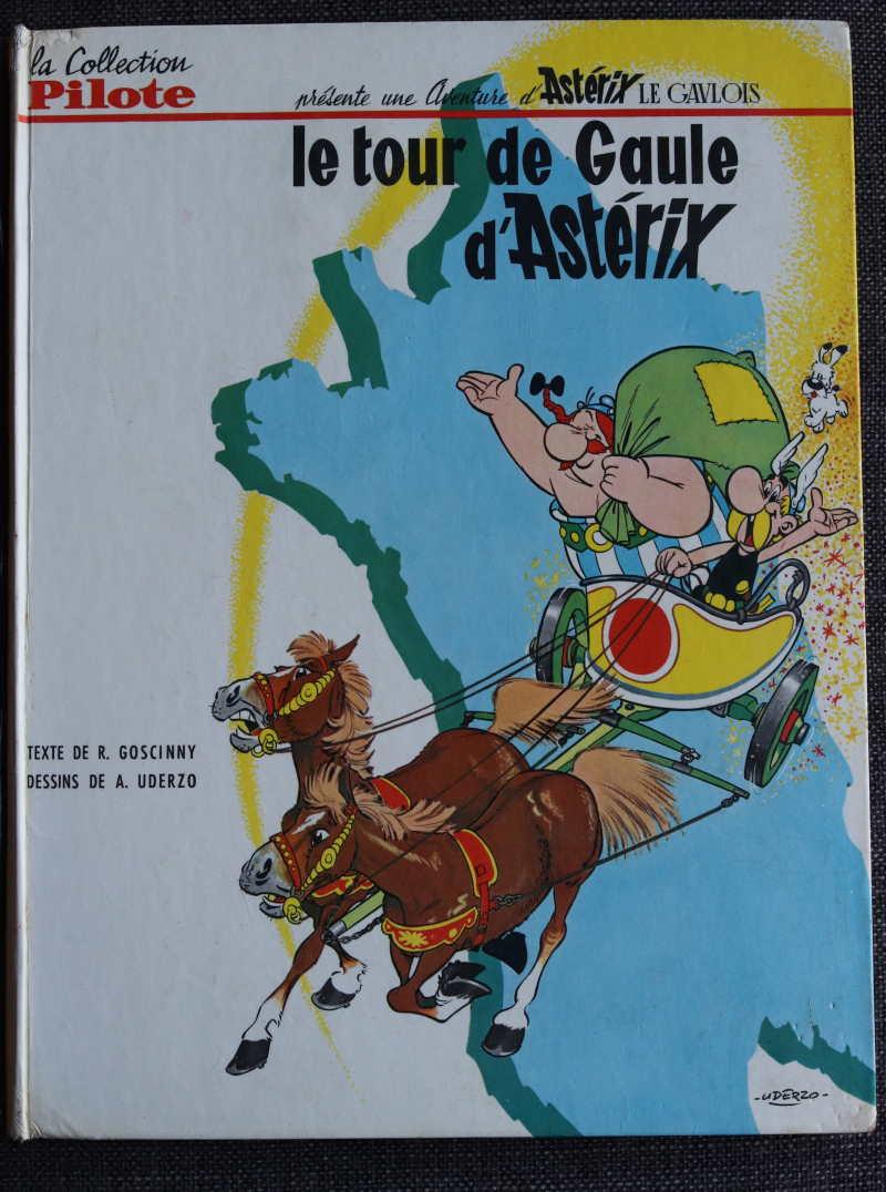 UDERZO GOSCINNY LE TOUR DE GAULE D'ASTERIX – EO1965 – 500 EUR
