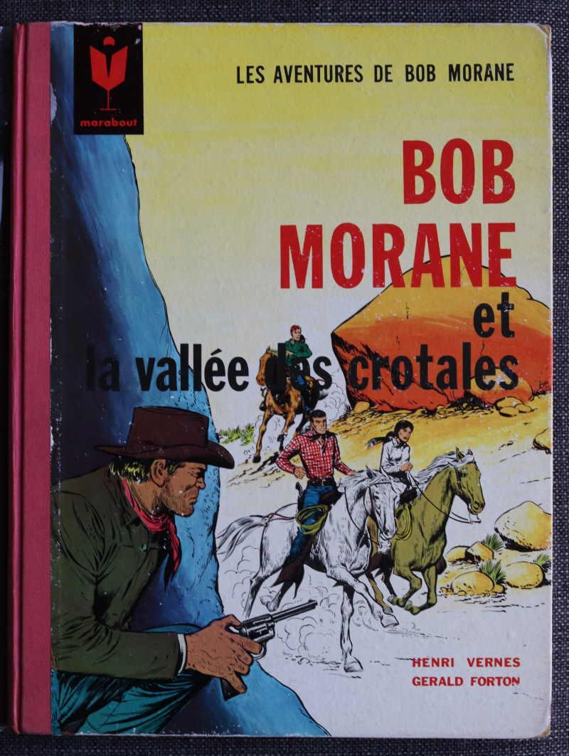 VERNES FORTON BOB MORANE ET LA VALLEE DES CROTALES – EO1964 – 120 EUR