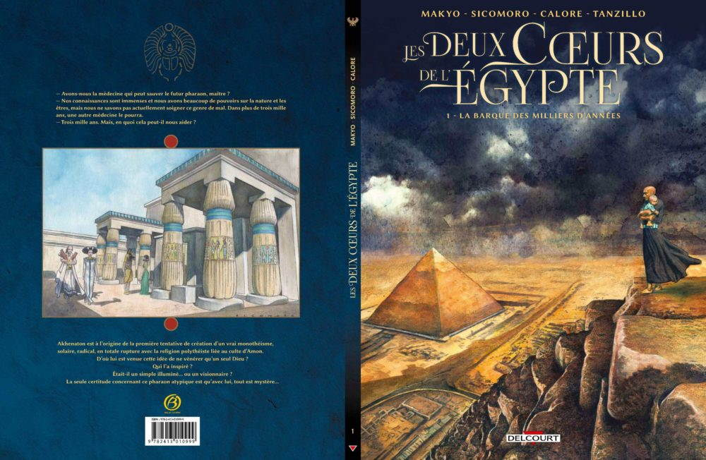 MAKYO SICOMORO CALORE LES DEUX COEURS DE L'EGYPTE  – 500 EX – Tirage épuisé