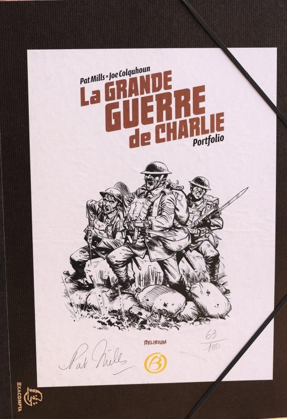 PAT MILLS LA GRANDE GUERRE DE CHARLIE – 100 EX – 49 EUR